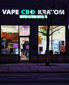 Vape CBD Kratom, 6169 N Broadway, Chicago, IL, United States