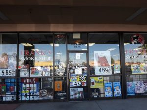 Frank's Smoke Shop, 3725 W Ina Rd, Tucson, AZ 85741, United States