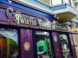 Twisted Thistle Apothecary, 4156 Piedmont Ave, Oakland, CA 94611, United States  1391 Haight St, San Francisco, CA 94117, United States