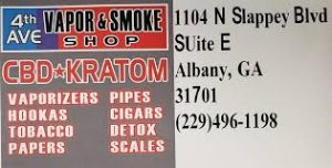 4th Ave Vapor & Smoke Shop, 1104 N Slappey Blvd suite e, Albany, GA 31701, United States