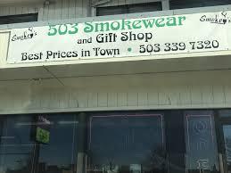 503 Smokewear, 2080 Lancaster Dr NE #110, Salem, OR 97305, United States
